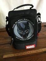 EUC Disney Store Black Panther Backpack Lunch Box Bag School Chadwick Boseman