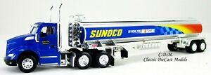 Kenworth T680 Day Cab SUNOCO w/Gasoline Tanker HO 1/87 Scale TNS101