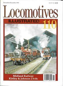 Locomotives Illustrated No 110 Midland Railway Kirtley & Johnson 2-4-0s