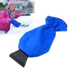 Car Winter Fleece Lined Waterproof Gloves Auto Ice Scraper Mitt Snow Brushes