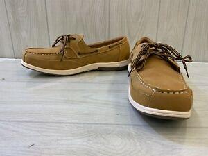 Deer Stags Mitch Boat Shoe, Men's Size 16W, Light Tan