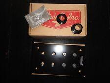 Biltwell Matte Black Solution License Plate Bracket - 2030-0834 - LB-UNI-AL-BK