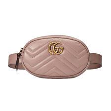 NWT Authentic Gucci Marmont GG Matelassé Leather Belt Bag Size 85