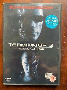 Terminator 3 DVD 2003 Action Sci-Fi Film Largeur/Schwarzenegger Simple Disque