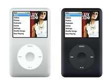 Apple iPod Classic 6th Generation Black or Silver 80GB or 160GB *Used*