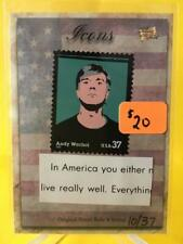 Andy Warhol 2018 The Bar, Icons, Pieces Of The Past Relic #PRH-ICONS Stamp