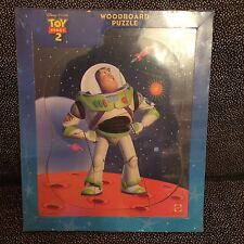 Toy Story 2 Buzz Lightyear Wood Board Puzzle - Mattel - 8 Pieces - New Unopened