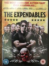 Sylvester Stallone Jason Statham Jet Li la EXPENDABLES ~ 2010 GB DVD