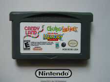 CANDY LAND . CHUTES & LADDERS . MEMORY * NINTENDO GAMEBOY ADVANCE SP DS GENUINE