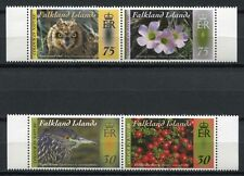 FALKLAND 2012 Vögel Eule Pflanzen Birds Plants ** MNH