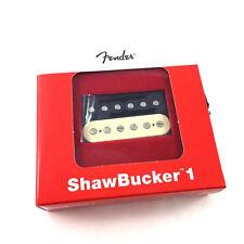 Genuine Fender Shawbucker 1 Humbucker Pickup Zebra Neck Fat Strat 099-2249-001