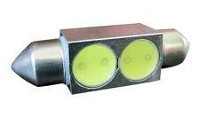 4x 42mm Festoon LED AMBER Dome Map Light Interior Lamp Bulb 578 569 211-2 212-2