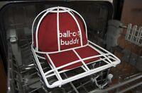 Ballcap Buddy Baseball Ball Cap Hat Wash Washing Washer Rack Frame Made in USA