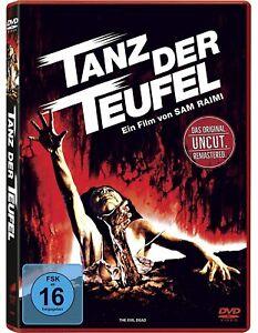 Tanz der Teufel (1981 Uncut, Remastered) [DVD/NEU/OVP] von Sam Raimi