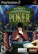 PS2 *GAME ONLY* WORLD CHAMPIONSHIP POKER