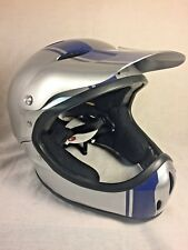 NEW Pro-tec Helmet Ace Full Face size S/M bicycle downhill , BMX  , silver