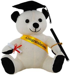 Graduation Autograph Bear With Pen 22cm Congragulation Signature Bear Keepsake