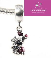 💎🎀 STERLING SILVER 925 DISNEY PIGLET CHARM & GIFT POUCH- WINNIE THE POOH