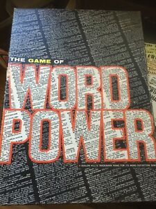 The Game Of Word Power - Avalon Hill Bookcase Game, 1967, Knowledge Literature