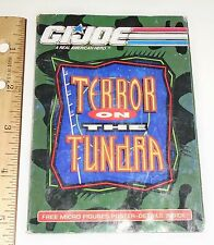 G I JOE Catalog Brochure Order Form   1991  Terror on the Tundra