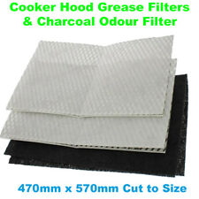 Homespares Universal Cooker Hood Grease Filter 470mm X 570mm High Quality