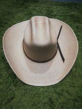 """Genuine stetson cowboy hat Dorado """"20"""" 7 3/8 - 59cm"""