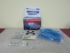 VGT REVELL 1967 PLYMOUTH GTX HEMI MODEL KIT SKILL-2 7399 ~ NEVER PUT TOGETHER ~