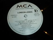 "London Jones - Joi - 1994 UK 4-track 12"" Vinyl Single"