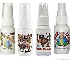 1 Liquid Ass, 1 Bad Karma, 1 Barfume, 1 Tex Ass ( 4 TOTAL ) stink prank set