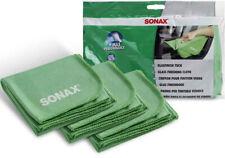 SONAX GlasfinishTuch Scheibenreinigungstuch Mikrofasertuch Glasreiniger