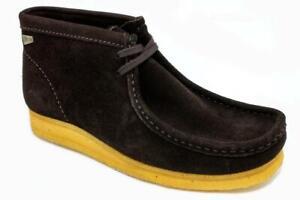 Clarks Mokassins Wallabee Ebony Boot Suede 00101312 (14BB)