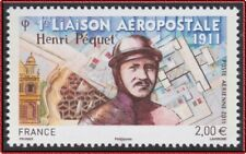 2011 FRANCE PA N°74** Liaison aéropostale, Henri Péquet, France Airmail 2011 MNH