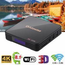 Alfawise A5X TV Box 4K RK3328 Android 8.1 Quad Core 4GB+32GB HD BT 5G Wifi H.265