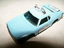 Vintage Aurora AFX Blue Matador Taxi Slot Car Body NOS N/MINT COMBINED SHIPPING