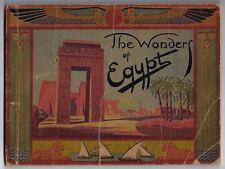 The Wonders of Egypt A Gaddis (Gaddis Photo Stores) 1930 Luxor Travel Souvenir