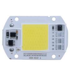 1pc 50W 110V  LED Floodlight Cool White COB Chip Smart IC Driver Lamp for DIY