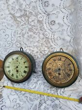 More details for two non fuse military wallclocks