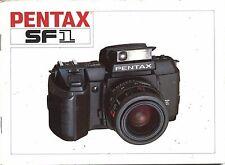 ASAHI PENTAX SF1 Vintage Manual Camera Guide Instruction Photography Book