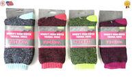 6 pair Ladies Boot Socks All Weather Comfort Blend Sock Thermal Interior Moistur