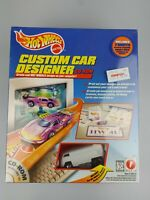 Hot Wheels 1997 Custom Car Designer CD-ROM W/ White VW Drag Bus NEW SEALED 90's