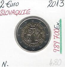 2 Euros - SLOVAQUIE - 2013 // Qualité: Neuve (989 700 Ex)