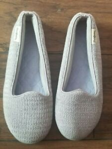 Dearfoams  Slipper - Women's Size L(9-10)- light blue