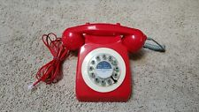 VINTAGE STYLE RED TELEPHONE MODEL 746