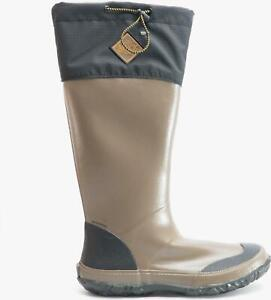 Muck Boots FORAGER TALL Unisex Rubber Wellington Boots Black/Tan