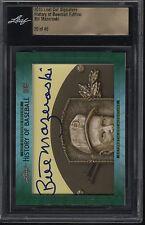 2015 Leaf Cut Signature Bill Mazeroski History of Baseball Edition 20/46