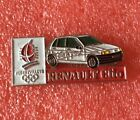 Pins Voiture RENAULT CLIO J.O. ALBERTVILLE 92 Jeux Olympique Olympia Games