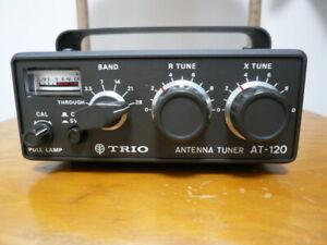 Kenwood Trio AT-120 HF Small Manual Tuner Pristine *Collectors Memories
