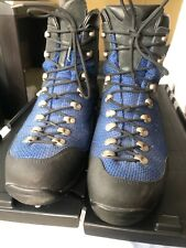LL Bean Blue Black Goretex Hiking Mountainering Boots Men's US 12 EU 46.5