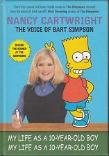 BART SIMPSONS VOICE NANCY CARTWRIGHT SIGNED IST EDITION H/B BOOK