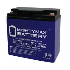 Mighty Max 12V 22AH GEL Battery for Jump N Carry JNC660